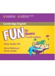 Fun for Movers, Fourth Edition – Аудио CD