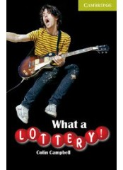 Cambridge English Readers: What a Lottery!, ниво Starter