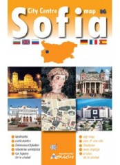 Sofia City Centre Map