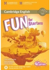 Fun for Starters, Fourth Edition – Книга за учителя + онлайн аудио записи