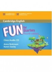 Fun for Starters, Fourth Edition – Аудио CD