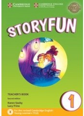 Storyfun for Starters: Level 1, Second edition – Книга за учителя + CD