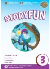 Storyfun for Movers: Level 3, Second edition  – Книга за учителя + 2 CD