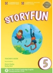 Storyfun for Flyers: Level 5, Second edition – Книга за учителя + 2 CD