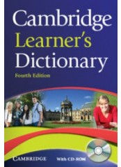 Cambridge Learner's Dictionary, Fourth edition – Английски тълковен речник