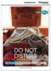 Cambridge Discovery Education Interactive Readers: Do Not Disturb - Ниво А1+