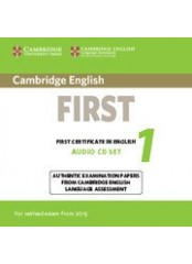 Cambridge FCE 1 Practice Tests, New edition for revised exam 2015 - 2 CD