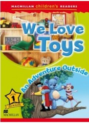 Macmillan Children's Readers: We love toys - Ниво 1