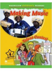 Macmillan Children's Readers: Making music - Ниво 4