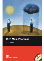 Macmillan Readers: Rich Man, Poor Man + CD - Level Begginer