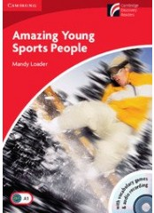 Cambridge Experience Readers: Amazing Young Sports + CD - Ниво А1
