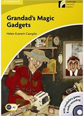 Cambridge Experience Readers: Grandad's Magic Gadgets + CD - Ниво А2