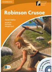 Cambridge Experience Readers: Robinson Crusoe + CD - Ниво B1