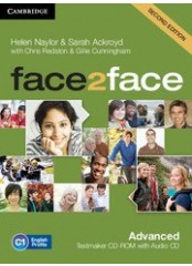 Face2Face, Second edition Advanced - Testmaker CD-ROM + audio CD