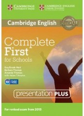 Complete First for Schools Presentation Plus -  DVD-ROM