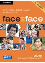 Face2Face, Second edition Starter - Testmaker CD-ROM + audio CD