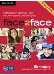 Face2Face, Second edition Elementary - Testmaker CD-ROM + audio CD