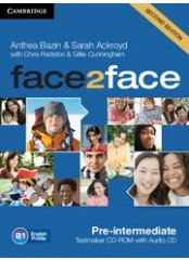 Face2Face, Second edition Pre-Intermediate - Testmaker CD-ROM + audio CD