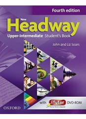 New Headway Upper-Intermediate, Fourth edition - Учебник по английски език + DVD-ROM