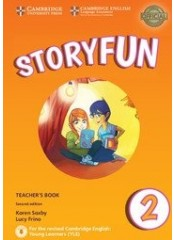 Storyfun for Starters: Level 2, Second edition – Книга за учителя + CD
