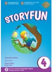 Storyfun for Movers: Level 4, Second edition  – Книга за учителя + 2 CD