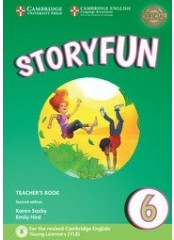 Storyfun for Flyers: Level 6, Second edition – Книга за учителя + 2 CD
