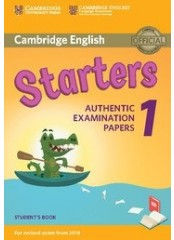 Cambridge Young Learners English Practice Tests for Starters 1 - Учебник по английски език