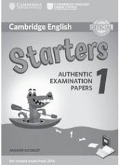 Cambridge Young Learners English Practice Tests for Starters 1 - Тетрадка с отговори