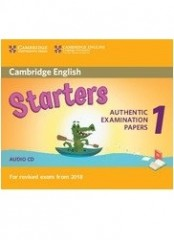 Cambridge Young Learners English Practice Tests for Starters 1- Аудио CD