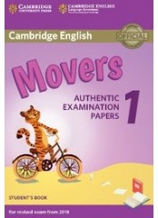 Cambridge Young Learners English Practice Tests for Movers 1 - Учебник по английски език