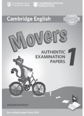 Cambridge Young Learners English Practice Tests for Movers 1 - Тетрадка с отговори