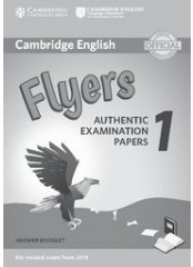 Cambridge Young Learners English Practice Tests for Flyers 1 - Тетрадка с отговори