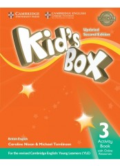 Kid's Box Level 3 - Activity Book with Online Resources British English