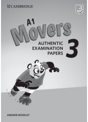 A1 Movers 3 - Answer Booklet