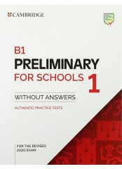5 B 1 Preliminary for Schools 1 for the Revised 2020 Exam Std.Bk w/o ans.