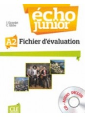 Echo Junior, ниво A2 - Fichier d'evaluation + CD
