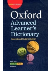 Oxford Advanced Learner's Dictionary: International Student's edition with DVD-ROM