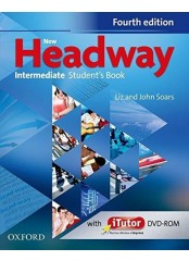 New Headway Intermediate, Fourth Edition - Учебник по английски език + DVD-ROM