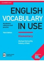 English Vocabulary in Use, Elementary - Лексика по английски език + eBook