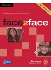 Face2Face, Second edition Elementary - Ръководство за учителя + DVD