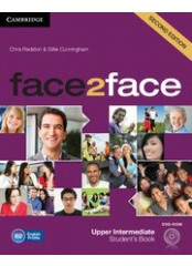 Face2Face, Second edition Upper-intermediate - Учебник по английски език + DVD