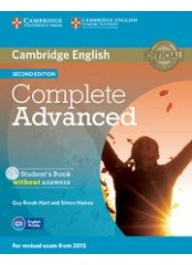 Complete Advanced Second Edition - Учебник без отговори + CD-ROM