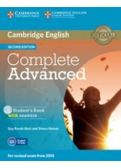 Complete Advanced Second Edition - Учебник с отговори + CD-ROM