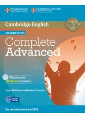 Complete Advanced Second Edition - Учебна тетрадка + CD